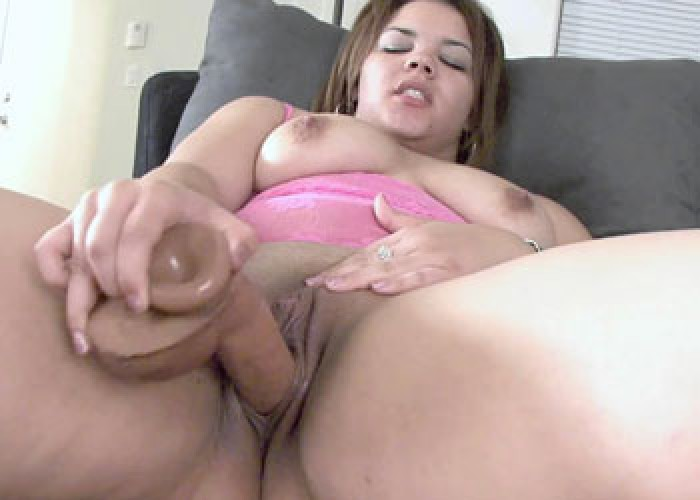 Plumper with dildo